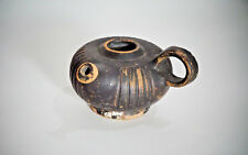 A Greek Pottery Blackware Guttos, ca. 5th-3rd Century B.C.