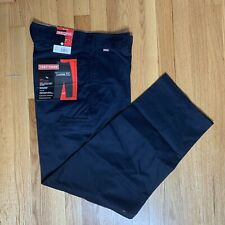 Craftsman Twill Double Knee Pants with Teflon Mens Work Trousers Loose Fit 30/32