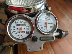 1998 Buell S1 Lightning Gauges Speedometer Tachometer speedo tach + bracket