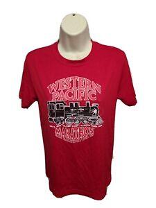 2012 Western Pacific Quarry Lakes Marathon & Half 10k 5k Women Small Red Jersey