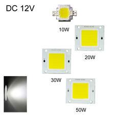 12V LED Chip Bead New DIY Bead Cold White 10W/20W/30W/50W Light Bulb COB Strip