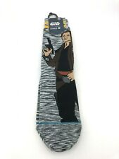 STANCE Star Wars Kessel Run Crew Socks Mens Size Large 9-12 Han Solo Chewbacca