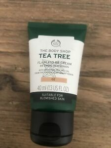 The Body Shop TEA TREE Flawless BB Cream 02 40ml Discontinued