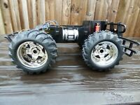 1:10 NEW BRIGHT RC Car Chassis STREET MONSTER Toy TRUCK CAR Chassis Only