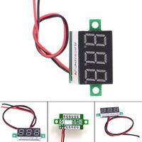 1x Electric LCD Red Digital Panel Voltmeter Volt Meter DC4.5-30V 2 Wires Durable