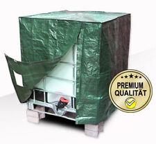 Premium IBC Container Cover, 1000L Tank Abdeckplane, Sichtschutz für Wassertonne