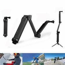 3 Way Extendable Selfie Stick / Telescopic Monopod to suit GoPro Hero 5 4, 3 &3+