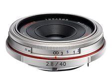 PENTAX HD Da Limited 40mm F2.8 Lens - Silver