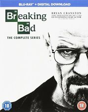 BREAKING BAD The COMPLETE SERIES BLU RAY BOXSET REGION B