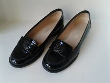 Chanel Loafers   Shoes   Black  Moccasins  Patent leather 39 Flats