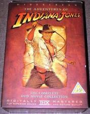 INDIANA JONES TRILOGY Steven Spielberg*Harrison Ford Action 4 Disc OOP DVD *EXC*