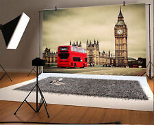 London Street View Big Ben Photo Backdrop 10x6.5ft Background Photography Props