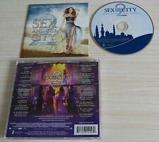 CD ALBUM BOF SEX AND THE CITY 2 MUSIQUE DE FILM ORIGINAL SOUNDTRACK 10 TITRES