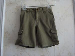 NWT Janie And Jack Boys Cargo Bermuda Shorts Pants 4  4T Olive Green