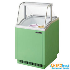 Turbo Air Tidc-26G Green Ice Cream Dipping Cabinet