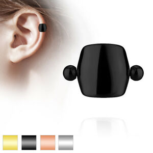 316L Surgical Steel Plain Shield Ear Cartilage Ring Helix Cuff