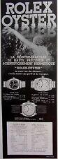 publicité de presse    MONTRES ROLEX       en 1933  ref. 31831