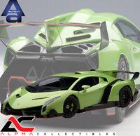 AUTOART 74509 1:18 LAMBORGHINI VENENO (GREEN) SUPERCAR DIECAST