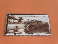 CHROMO PHOTO CHOCOLAT SUCHARD 1930 COLONIES INDOCHINE ANNAM DONG-HOÏ CITADELLE