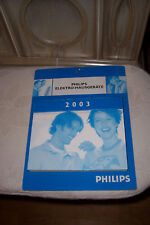 Philips Elektro Hausgeräte Kalender Geburtstag Tageskalender 2003