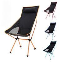 Outdoor Ultralight Portable Folding Chair Fishing Beach Camping BBQ Seat
