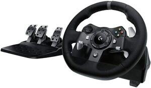 Logitech G920 Steering Wheel for Xbox One PC - Black