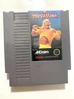 WWF Wrestlemania - Nintendo NES Game Authentic Tested + Working & Authentic!