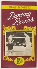 "Original Jack Dempsey vs. Gene Tunny ""Long Count"" Boxing Mutoscope Marquee Sign"
