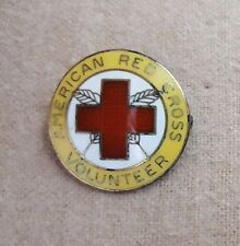 "1923 ""Staff Assistance"" Volunteer Service Pins of the American Red Cross"