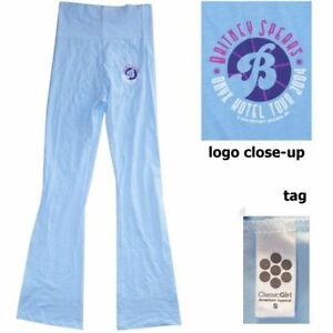 Britney Spears Onyx Hotel 2004 Blue Stretch Juniors Yoga Pants New Official
