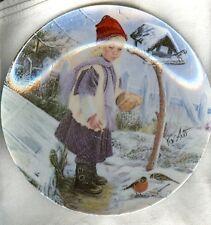 Ernst Plate Winter Liebchen  Little Darlings Series COA