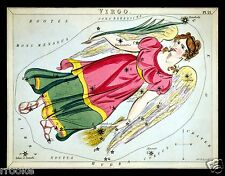 VIRGO August September Constellation ZODIAC ASTRONOMY Astrology Poster Print