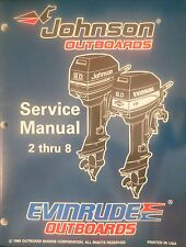 1996 Johnson Evinrude 2 2.3 3.3 4 5 6 8 HP Outboard Shop Service Repair Manual