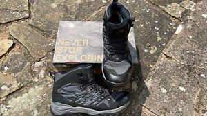 North Face Hedgehog GTX Gore-Tex Men Walking Boot Grey U.K. 9