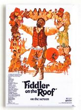 Fiddler on the Roof FRIDGE MAGNET (2 x 3 inches) movie poster