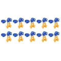 10 X Paires de Bouchons d'Oreilles Anti Bruit Boules Quies Protection Auditive