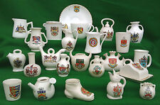 LARGE COLLECTION OF CRESTED CHINA - ARCADIAN,GEDDES, CARLTON etc