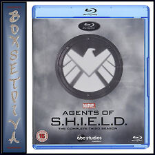 MARVEL  AGENTS OF SHIELD - COMPLETE SEASON 3   *BRAND NEW BLU-RAY REGION FREE***