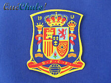 PARCHE TEXTIL EMBROIDERY PATCH ESPAÑA SPAIN 7.5 x 6.5 CM