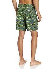 New HURLEY green gray swim trunks board shorts PHANTOM flamo camo 31 32 34 36 38