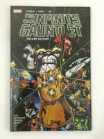 Infinity Gauntlet Deluxe Edition Graphic Novel (2018) Many Extras!