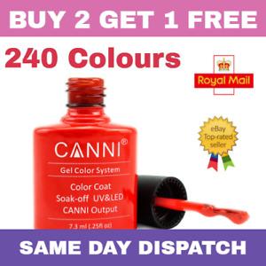 CANNI - Gel Nail Polish - Gel Nail Varnish - UV LED - 240 Colours