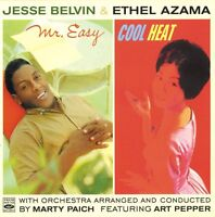 Jesse Belvin / Ethel Azama: MR. EASY + COOL HEAT (2 LPS ON 1 CD)