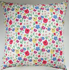 """CLEARANCE Shabby Chic Cushion Cover in Cath Kidston Paradise Fields 16"""""""