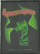 MARILYN MANSON smells like children 2016 - WOVEN SEW ON PATCH - no longer made