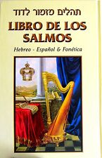 SALMOS Holy Bible Psalms TEHILIM in Hebrew, Spanish & Fonética Judaica Jewish
