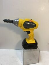 Fisher Price Drillin' Action Tool Replacement Yellow CORDLESS Drill Toy w BIT