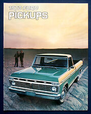 Prospekt brochure 1973 Ford Pickups  (USA)