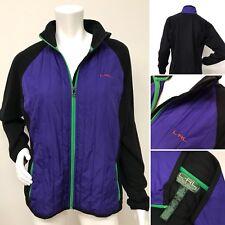 LAUREN RALPH LAUREN LRL ACTIVE Quilted Fleece Full Zip Front Jacket XL X-Large