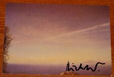 Gerhard richter ~ korsika ~ signé allemand art carte postale ~ uacc distributeur inscrit